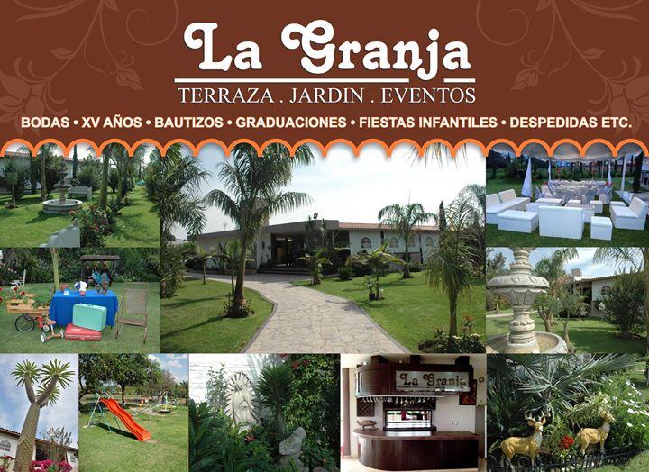 La Granja Terraza Jardin Eventos Events