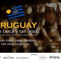 Cena Maridaje Vinos de Uruguay - Tan cerca y tan lejos