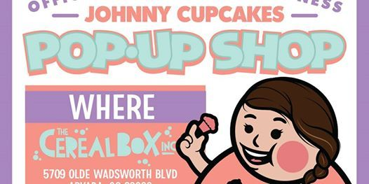 The Cereal Box Inc X Johnny Cupcakes Pop Up Shop
