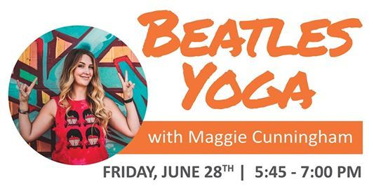 Beatles Yoga with Maggie Cunningham