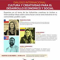 Cultura y Creatividad Para el Desarrollo Econmico y Social