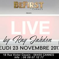 Ray Jahden en live au Befirst