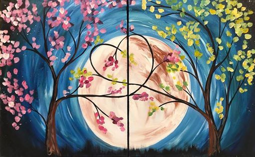Full Moon Painting Date Louisiana