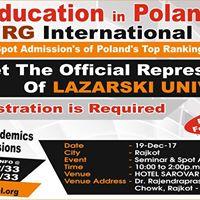 Rajkot - Education in Poland With Lazarski University