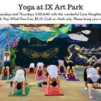 Yoga at IX with Cora Houghton