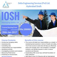IOSH Managing Safely UK With Delta Engineers at Hyderabad