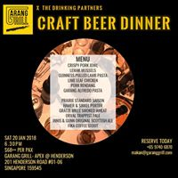 Craft Beer Dinner 2018