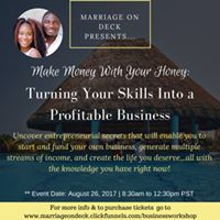 Business WorkshopTurning Your Skills Into Profitable Business