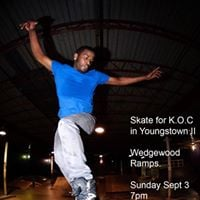 Skate for K.O.C in Youngstown II
