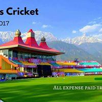 India Sri Lanka Cricket Trip at Dharamshala