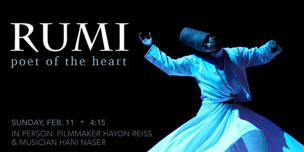 Rumi Poet Of The Heart With Haydn Reiss Hani Naser At Christopher