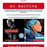 Movie Screening  Ex Machina