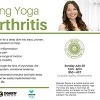 Healing Yoga for Arthritis