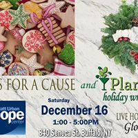 Plant Nite Holiday Wreath Auction for Matt Urban Hope Center
