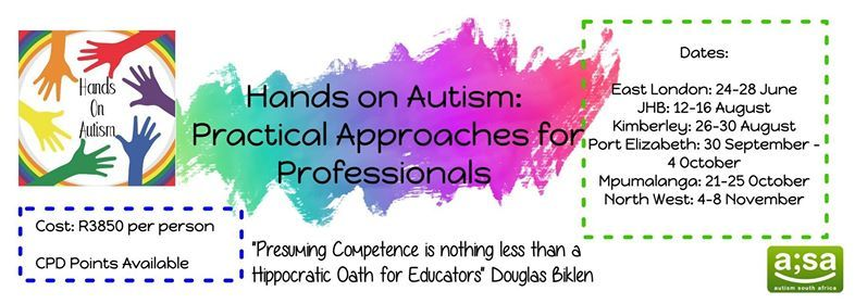 Hands on Autism Building a Professionals Toolkit