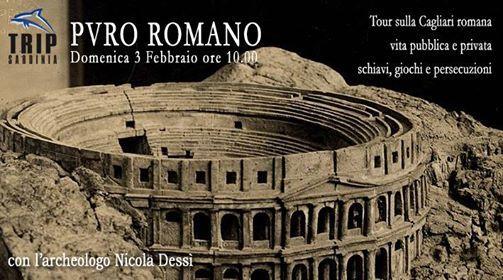 PVRO Romano - tour sulla Cagliari romana con Nicola Dess