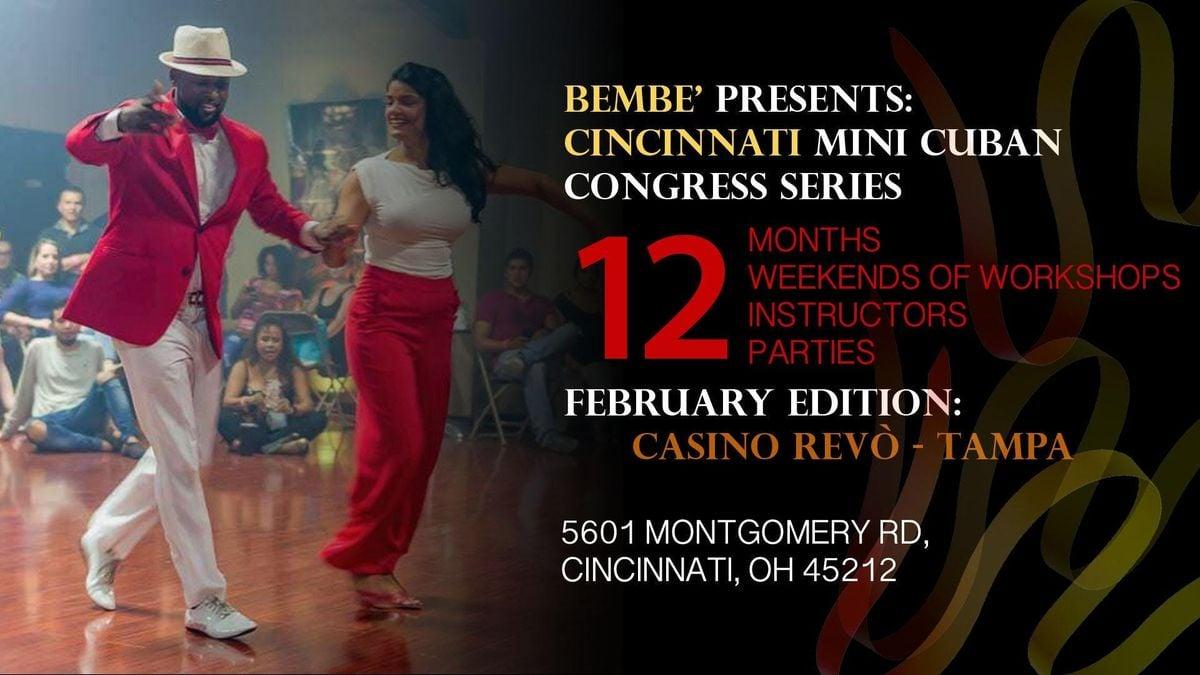 Bembe Cincinnati Cuban Masters Series w Casino Revo