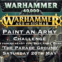 The Parade Ground army painting Competition