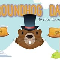 Groundhog Day Celebration at Wyoming Library