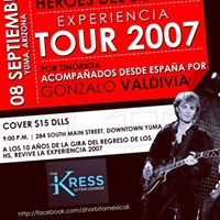Tributo a Heroes del Silencio Experiencia Tour 2007
