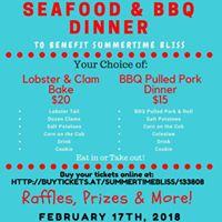 Seafood &amp BBQ Fundraiser Dinner