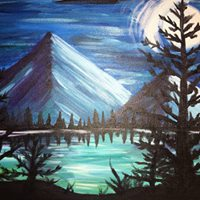 Paint Night Second Class Of The Night