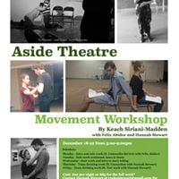 Aside Theatre Devised Movement Workshop