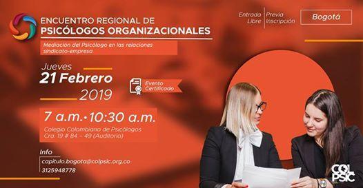 Encuentro Regional de Psiclogos Organizacionales