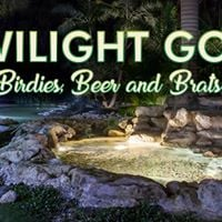Twilight Golf Birdies Beer and Brats