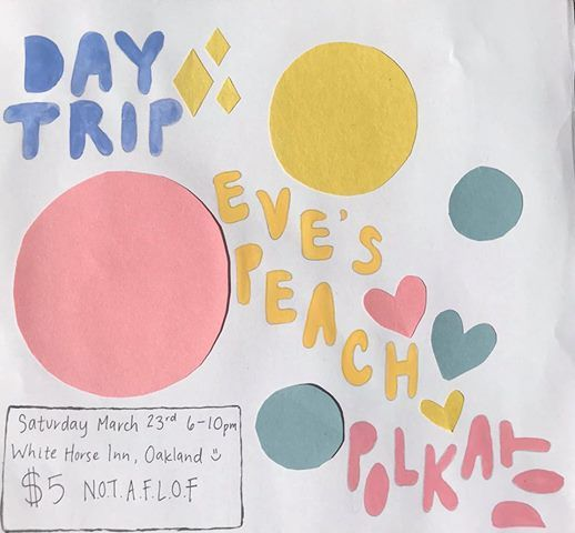 Day Trip  Eves Peach  polkadot at White Horse