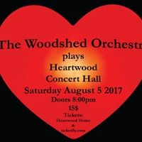 The Woodshed Orchestra plays the Heartwood