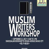 1st Muslim Writers Workshop In Philippines