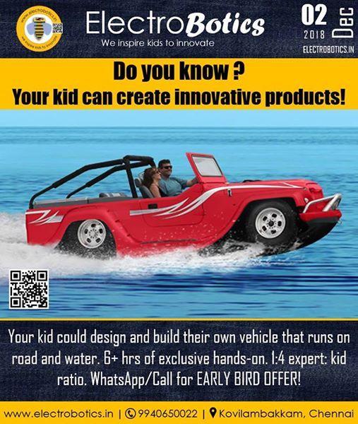 Amphibious Vehicles workshop by Electrobotics