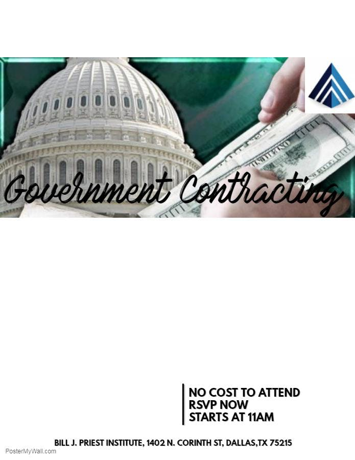 Follow the blueprint series government contracting at dcccd bill j follow the blueprint series government contracting malvernweather Images