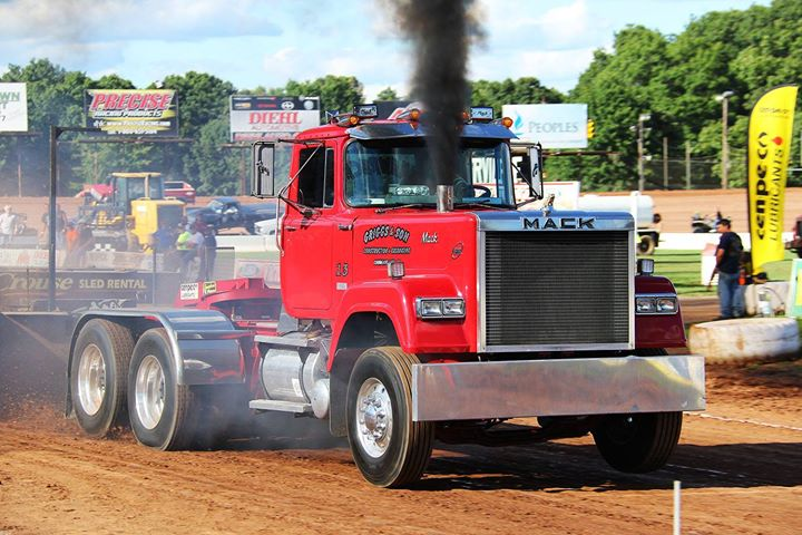 Big Rig Truck Pull by Full Pull Productions at Cattaraugus