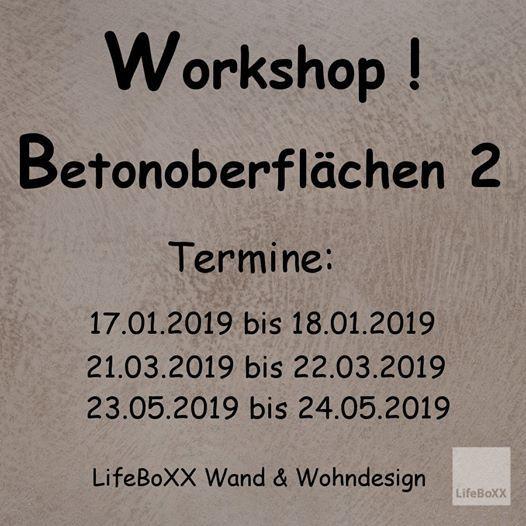 Betonoberflachen 2 At Lifeboxx Wand Wohndesignmusikantenweg 22