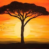 Paint Fundraiser and Supper for Sierra Leone