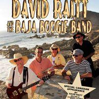 David Raitt &amp The Baja Boogie Band at The Blues Can