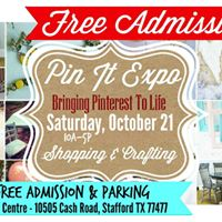 Stafford TX Pin It Expo Shop For All You Love To Pin