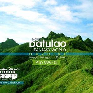 Mt. BATULAO  Fantasy World