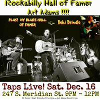 Art Adams Band &amp Beki Brindle Trio at Taps Live INDY