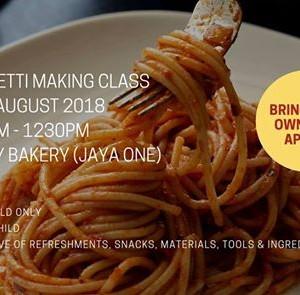 TedboyCooks Spaghetti Making Class