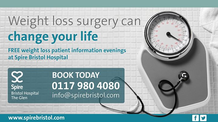 Weight Loss Surgery Information Evening Consultant Mr Hewes At