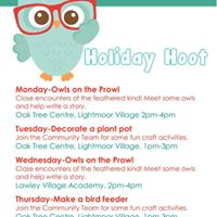 Holiday Hoot-Decorate a plant pot