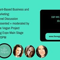 Plant-Based Business  Marketing Panel Discussion at Veg Expo