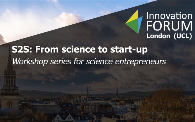S2S From science to start-up (workshop series)