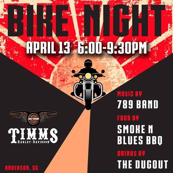 Bike Night At Timms Harley Davidson Of Anderson Anderson