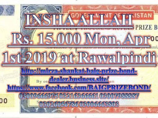 Rs. 15000 Mon Apr 1st 2019 at Rawalpindi