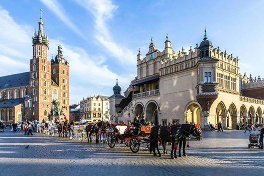 Capitale europene administrative si culturale-Cracovia