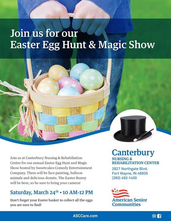 Easter Egg Hunt Magic Show